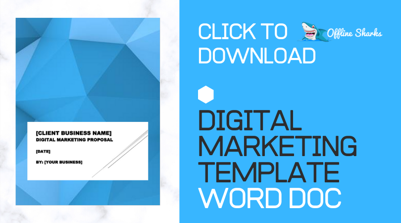 DIGITAL MARKETING TEMPLATE DOC FREE DOWNLOAD