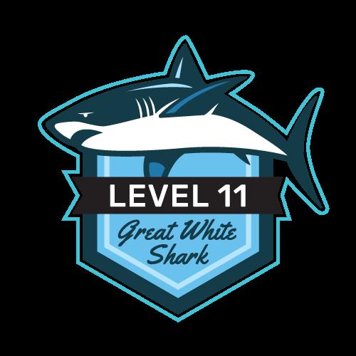 Level 11 - Great White Shark