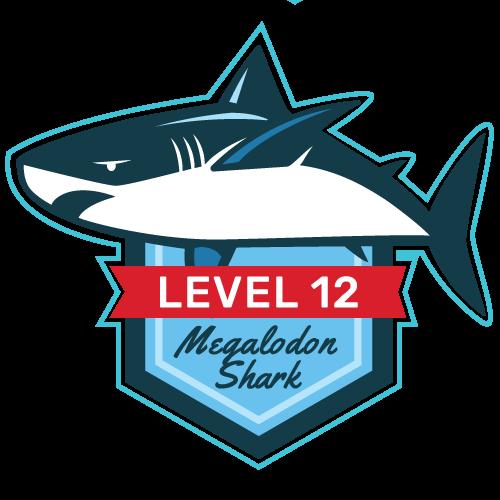 Level 12 - Megalodon Shark
