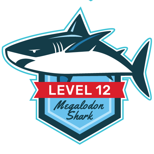 Level 12 - Megalodon Shark