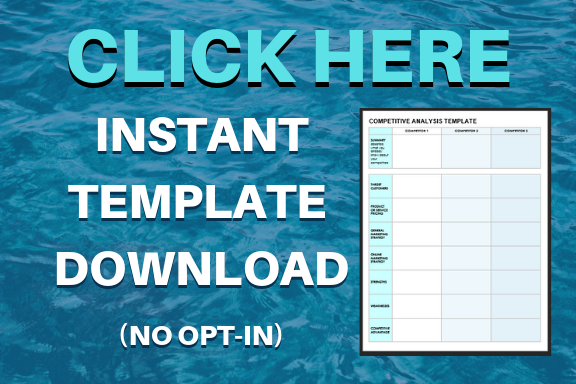 Competitive Analysis Tools Template Download