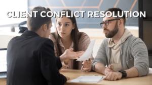 Client Conflict Resolution OfflineSharks