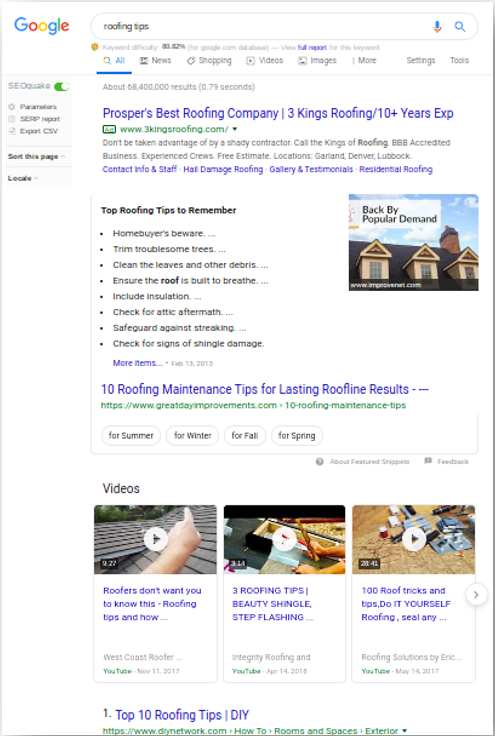 Using Video to Rank In Google Search
