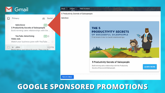 PPC GOOGLE SPONSORED PROMOTIONS