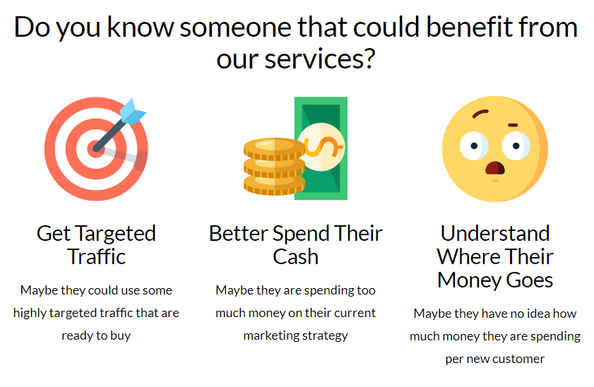 prospecting ppc seo clients referral