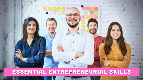 Essential Entrepreneurial Skills Digital Marketers HEADER