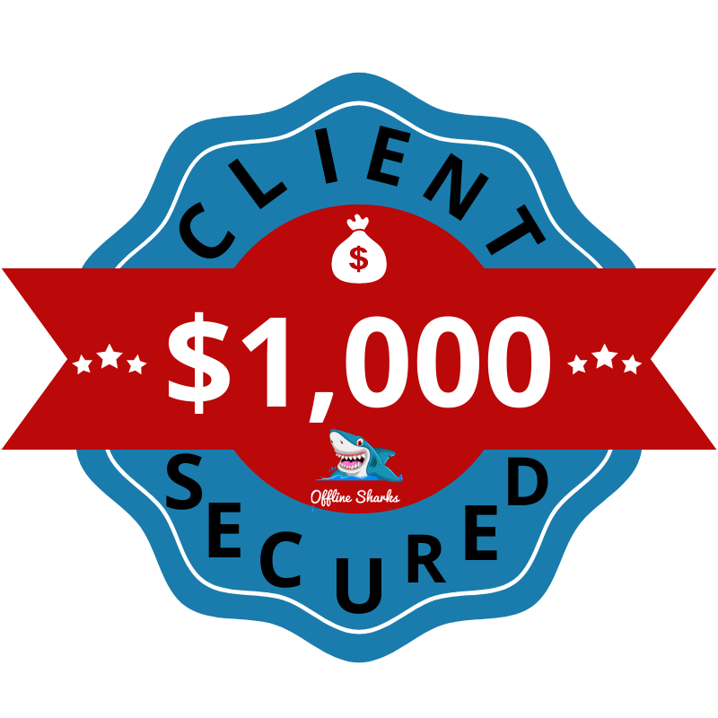 $1,000 Client Secured