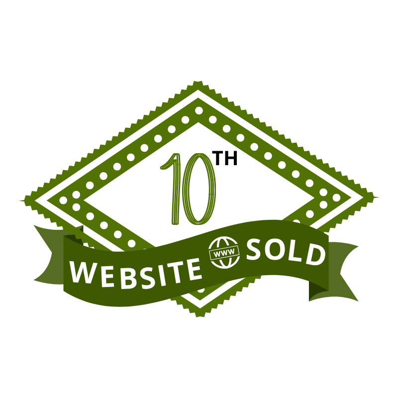 10th Website Sold