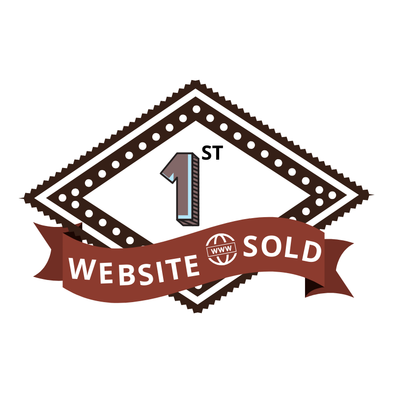 1st Website Sold