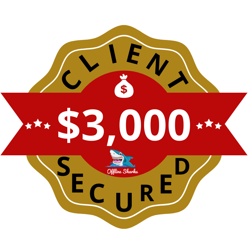 $3,000 Client Secured