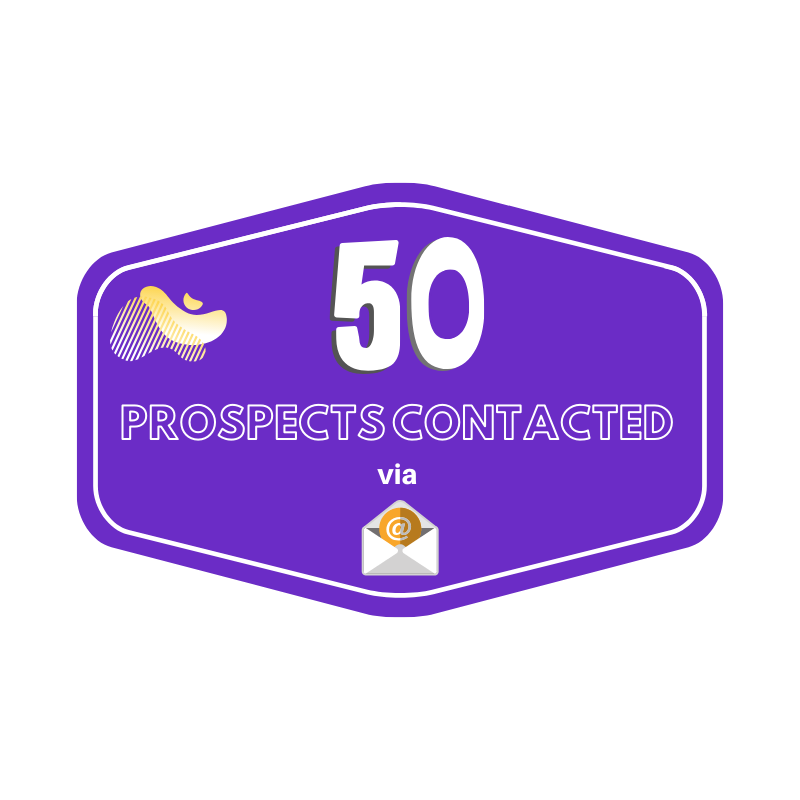 50 Prospects Contacted