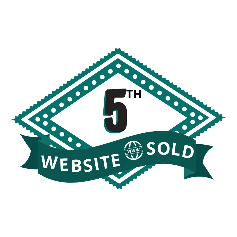 5th Website Sold