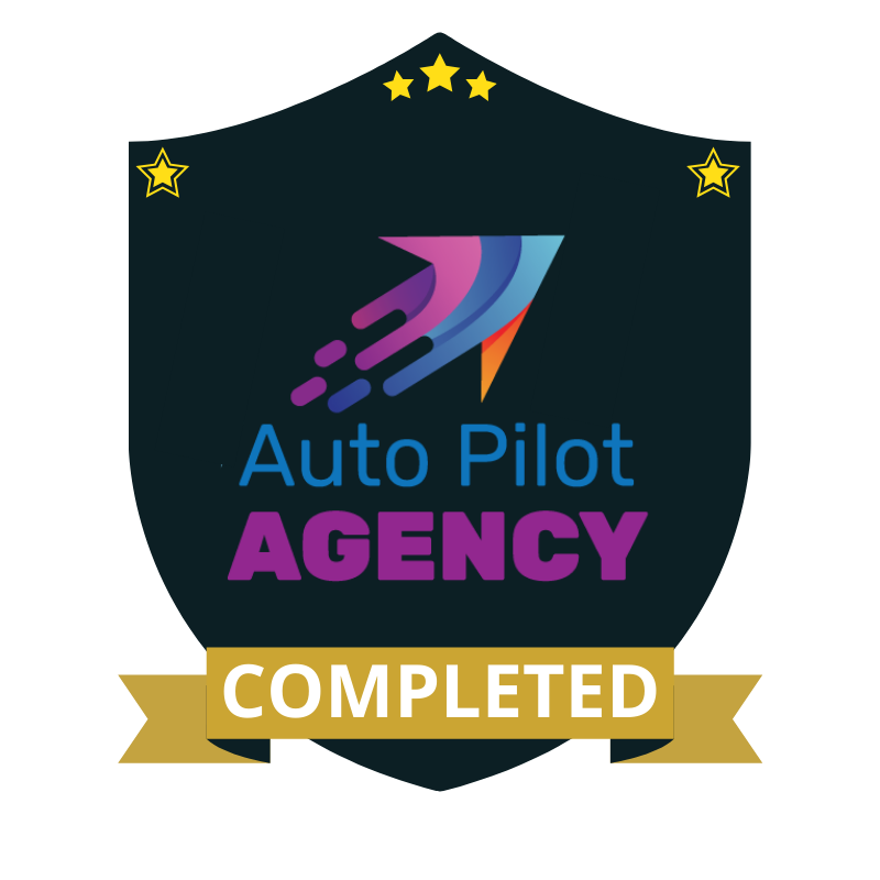 Auto Pilot Agency Completed