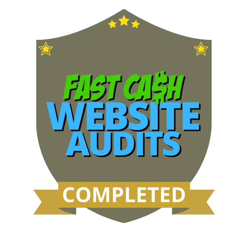Fast Cash Website Audits Completed