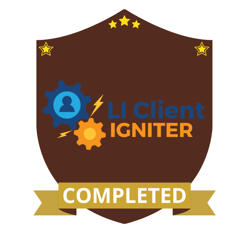 LI Client Igniter Completed