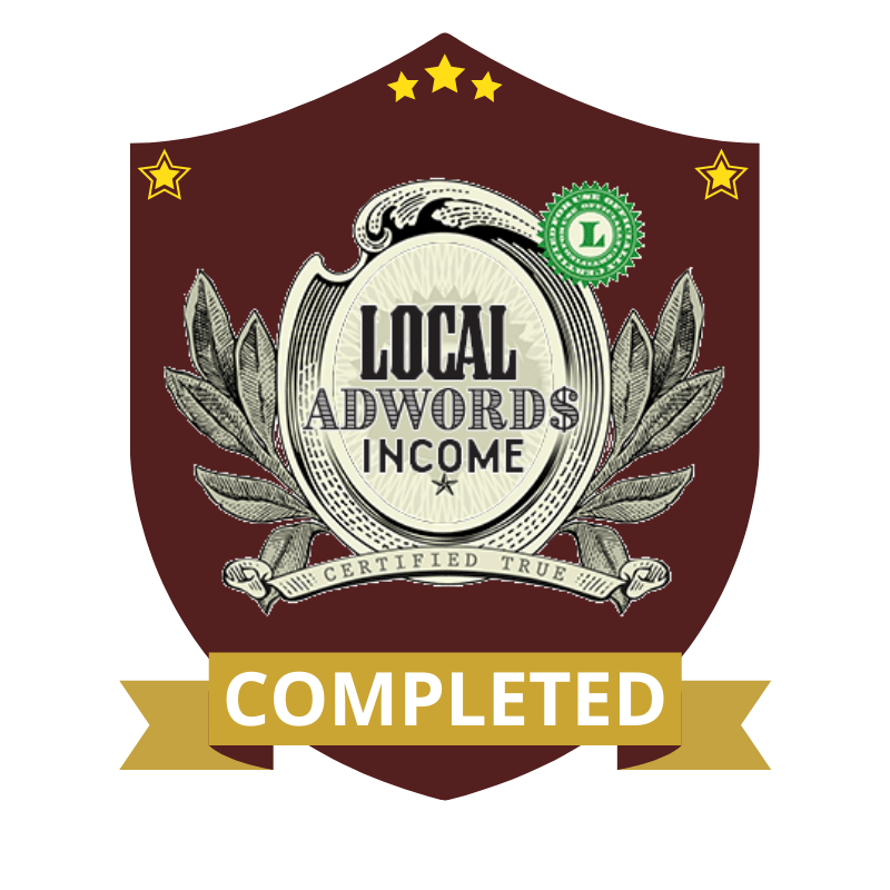 Local Adwords Income Completed