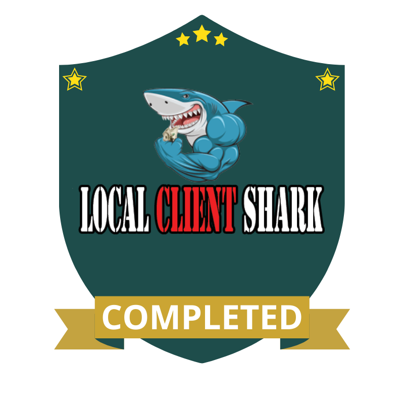 Local Client Shark Completed