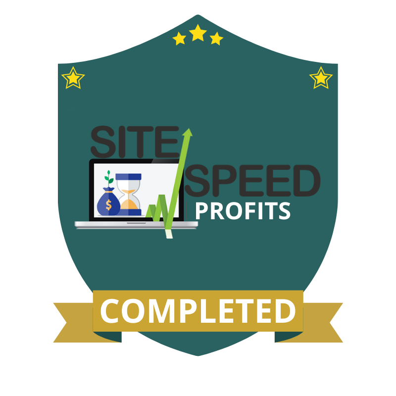 Site Speed Profits Completed