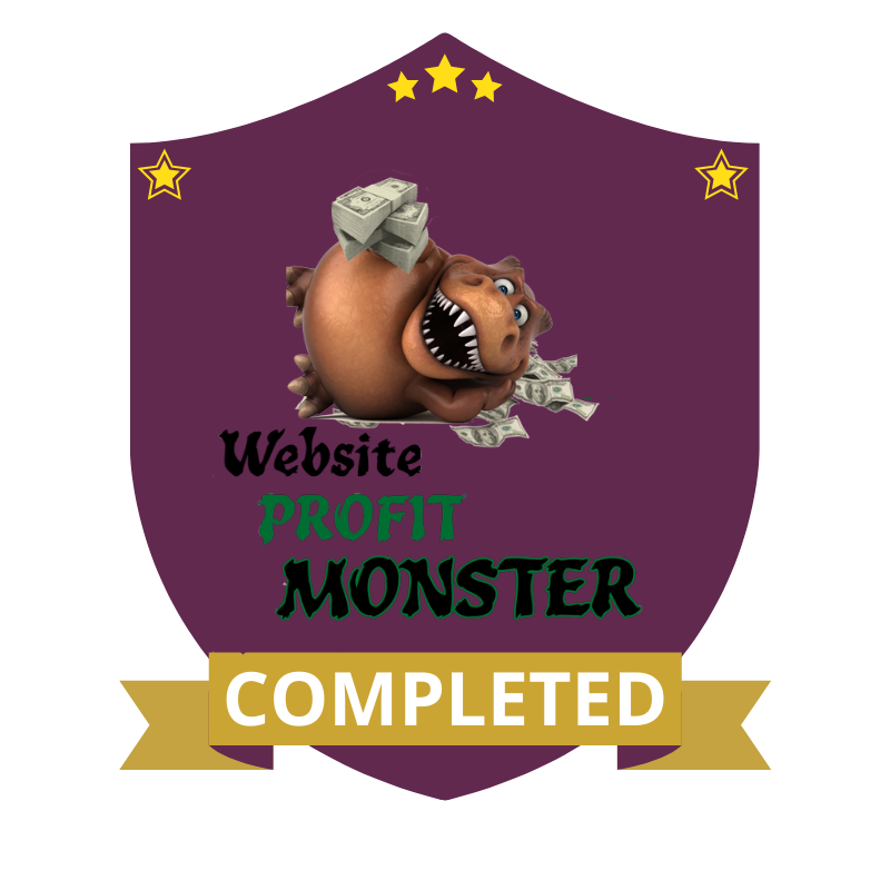 Website Profit Monster Completed