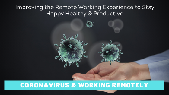 coronavirus COVID-19 remote working advice tips