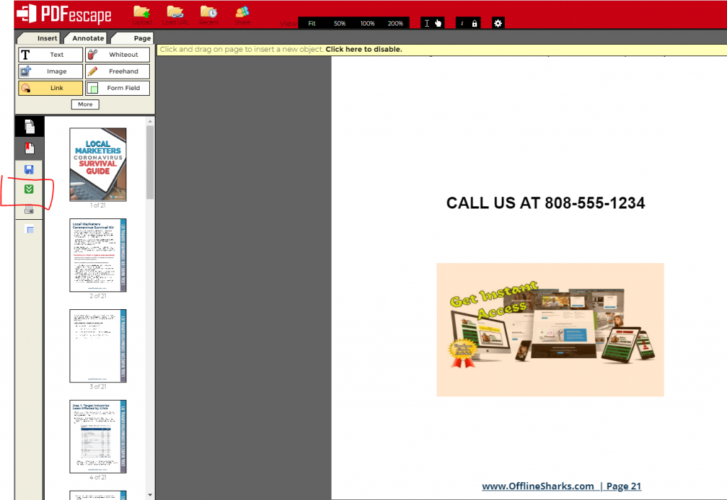 free pdf editor offline sharks local marketer training