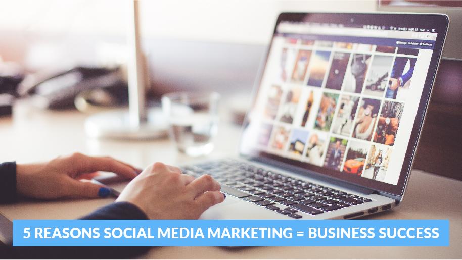5 Reasons Social Media Marketing Business Success 1